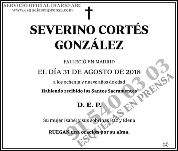 Severino Cortés González
